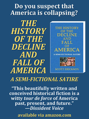 Decline and Fall of America Book Ad 300x400